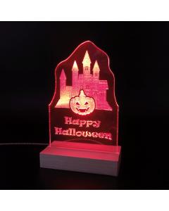 Leuchtschild Halloween