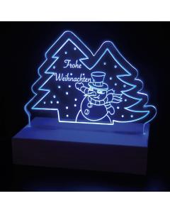 Leuchtschild Frohe Weihnachten