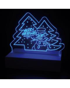 Leuchtschild Merry Christmas